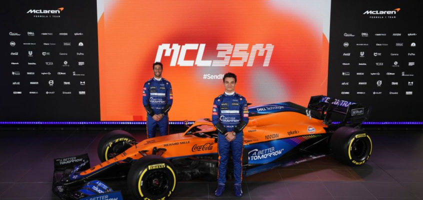 The MCL35M: Mercedes engine marks start of new era for McLaren