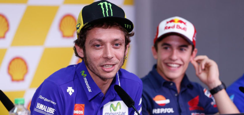 Rossi picks at Marquez and MotoGP doctors…again