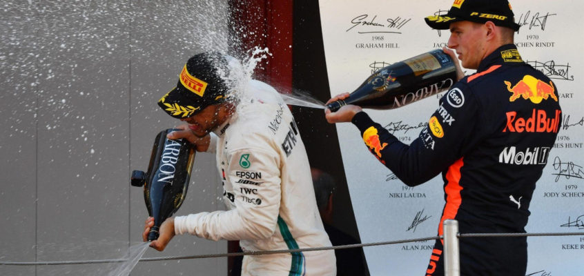 Sparkling wine will replace Champagne at the F1 podium