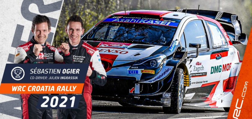Croatia Rally: Breathtaking last-gasp win for Ogier