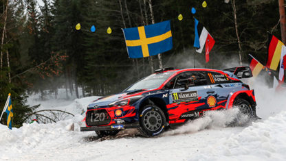Lack of snow forces Rally Sweden move up north