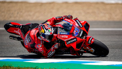 Miller beats Ducati teammate and new leader Bagnaia at Spanish GP