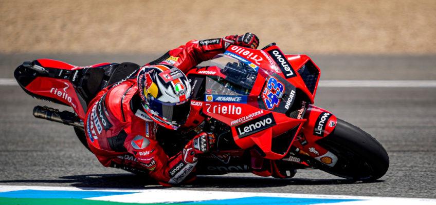 Miller beats Ducati teammate and new leader Bagnaia at Spanish GP