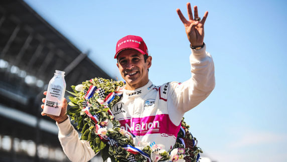 Castroneves makes history with fourth Indy 500 victory