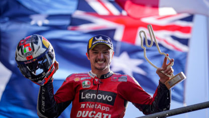 Ducati extends Jack Miller contract through 2022