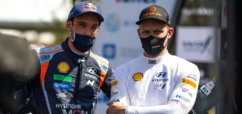 OFICIAL: Neuville and Tänak extend Hyundai contract