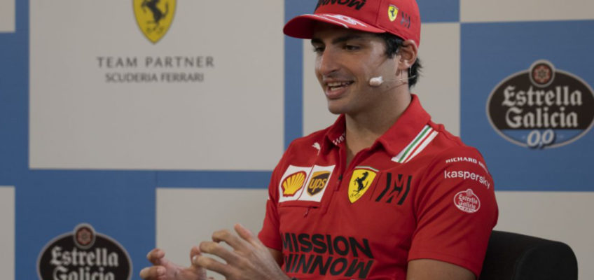 """Carlos Sainz: """"I have to keep on working to get better"""""""