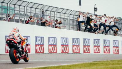 German MotoGP: Marc Márquez wins again