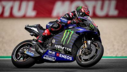 Dutch GP: Quartararo leads Yamaha's 1-2 in Assen