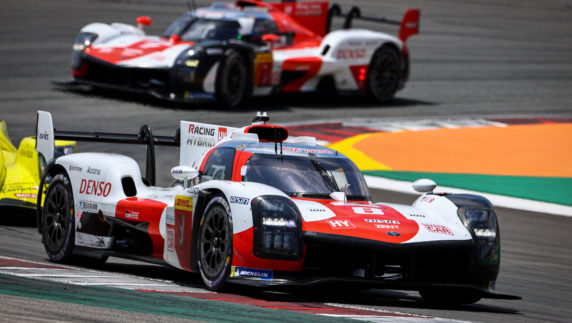 8 Hours ofPortimao: Toyota celebrates 100thrace with a 1-2