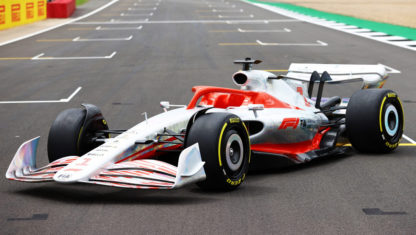 Formula One unveils its prototype car for 2022