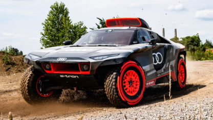 Here is the AudiRS Q e-Tronwhich is set to conquer the Dakar in 2022