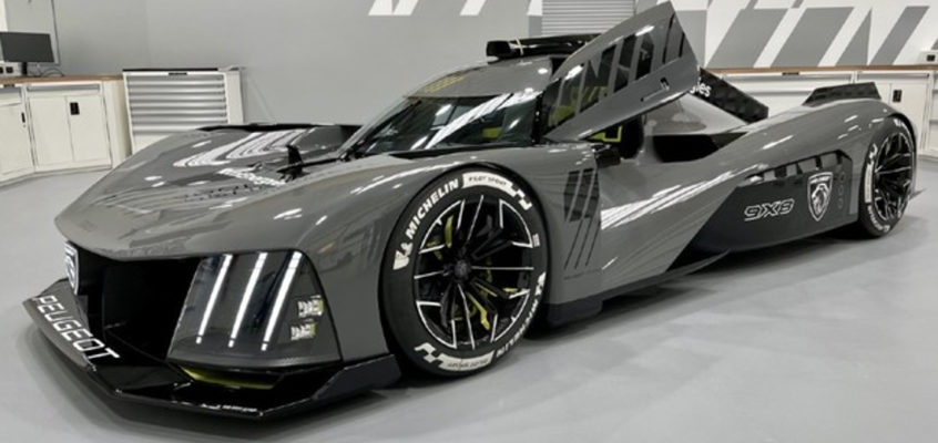 Meet the Peugeot 9X8, the French beast designed to take on Le Mans in 2022