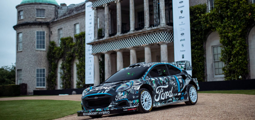 M-Sport unveils new Ford Puma Rally 1 to contest the 2022 WRC
