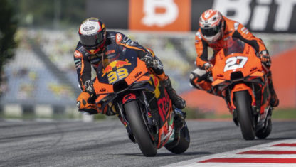 MotoGP Austrian GP 2021: Binder reigns among the chaos in Styria