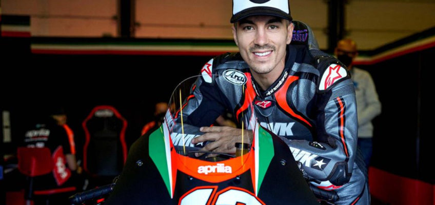 MaverickViñales will make its debut with Aprillia at the Aragon GP