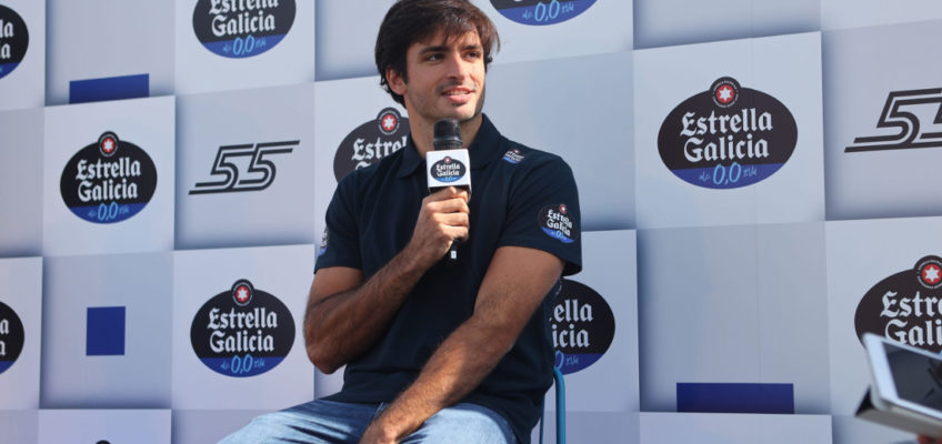 """Carlos Sainz: """"I would like to fight for the podium in the rest of 2021″"""