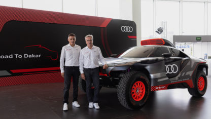 """Carlos Sainz: """"We want to win with Audi the Dakar this year"""""""
