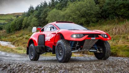 The bio-fuel powered BRX Hunter T1+ of Seb Loeb and Nani Roma for Dakar 2022