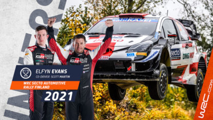 Rally Finland WRC 2021: Evans wins to keep alive his hopes for the WRC title