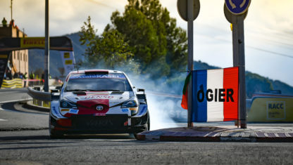 Rally RACC-Spain: Sebastien Ogier to fight for his eight WRC title
