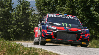 Dani Sordo and Oliver Solberg to share a Hyundai i20 N Rally 1 WRC in 2022