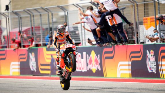 MotoGP Americas GP 2021: Marc Marquez wins again in Austin